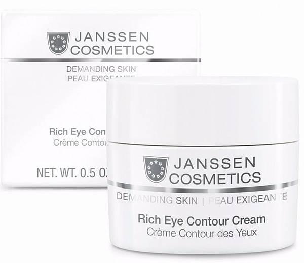 Janssen Demanding Skin Питательный крем для кожи вокруг глаз Rich Eye Contour Cream