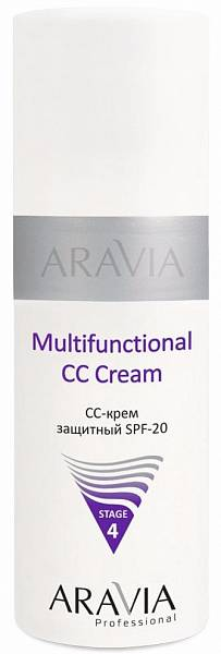 ARAVIA CC-крем для лица защитный SPF-20 Multifunctional