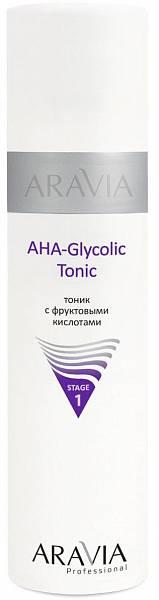 ARAVIA Тоник с фруктовыми кислотами AHA Glycolic Tonic