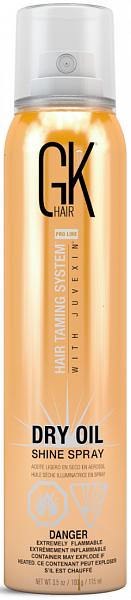 Global Keratin Спрей сухое масло для придания блеска волосам Dry Oil