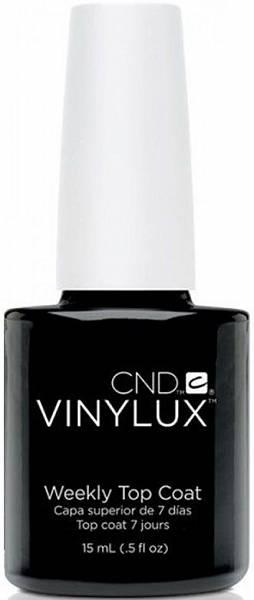 CND Верхнее покрытие Weekly Top Coat Vinylux