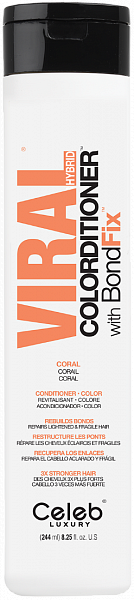 Celeb Viral Кондиционер тонирующий Коралловый