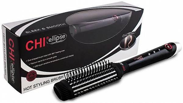 CHI Ellipse Titanium Расческа-выпрямитель для волос электрическая