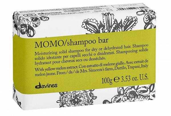 Davines Essential Твёрдый шампунь MOMO для глубокого увлажнения волос