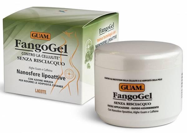 Guam Гель антицеллюлитный с липоактивными наносферами Fangogel