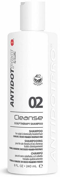 AntidotPro Шампунь успокаивающий Cleanse 02