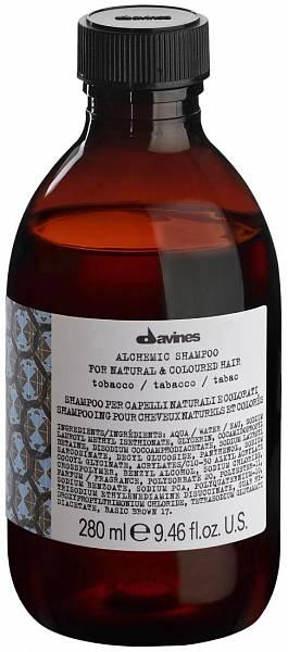 Davines Alchemic Шампунь для натуральных и окрашенных волос (табак)