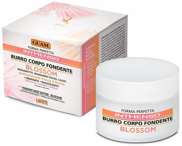 Guam Крем для тела с маслом Карите питательный с цветочным ароматом Inthenso