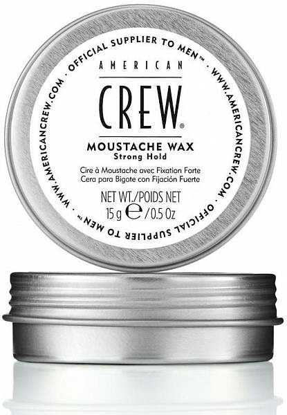 American Crew Стойкий воск сильной фиксации усов Moustache Wax