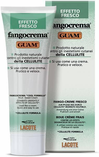 Guam Крем антицеллюлитный с освежающим эффектом на основе грязи Fangocrema