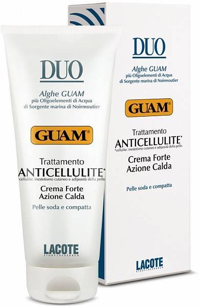 Guam Крем антицеллюлитный с разогревающим эффектом интенсивный Duo