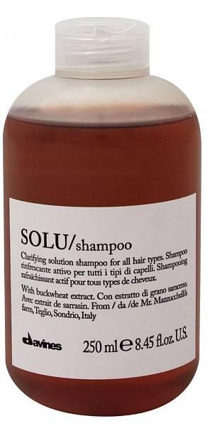Davines Essential Освежающий шампунь для глубокого очищения волос SOLU