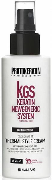 Color Guard Protokeratin BB-крем восстановление и термозащита для окрашенных волос