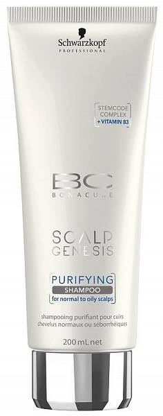 Schwarzkopf BC Scalp Genesis Очищающий шампунь Purifying