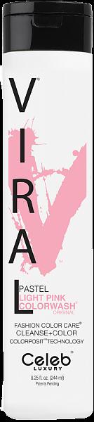 Celeb Viral Шампунь оттеночный Розовая пастель