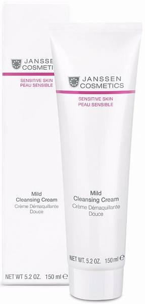 Janssen Sensitive Skin Деликатный очищающий крем для лица Mild Cleansing Cream