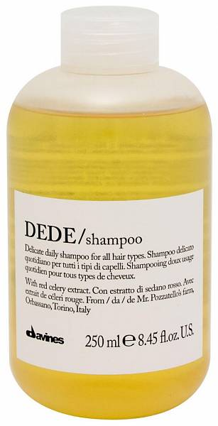 Davines Essential Шампунь для деликатного очищения волос DEDE