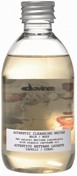 Davines Authentic Очищающий нектар для волос и тела