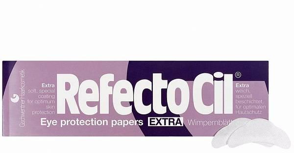 Салфетки под ресницы Extra непромокаемые покрытые пленкой RefectoCil