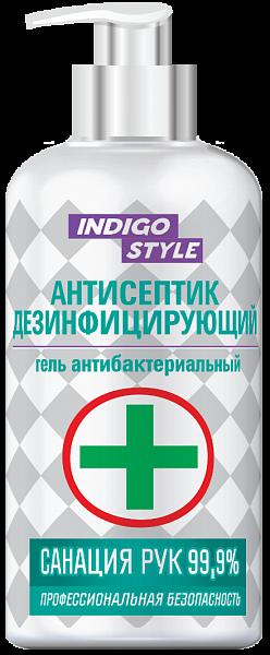 Indigo Гель антибактериальный дезинфицирующий спиртовой санация рук 99.9%