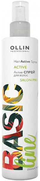 Ollin Basic Line Актив-спрей для волос