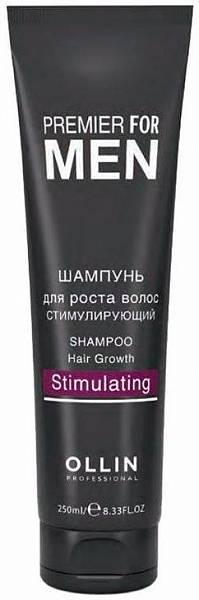 Ollin Premier For Men Шампунь для роста волос стимулирующий