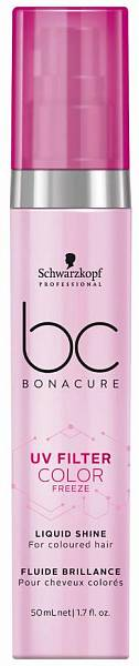 Schwarzkopf BC pH 4.5 Color Freeze Сыворотка для блеска Liquid Shine