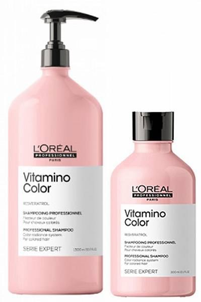 Loreal Vitamino Color Шампунь для окрашенных волос Resveratrol