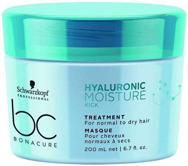 Schwarzkopf BC Hyaluronic Moisture Kick Увлажняющая маска для волос
