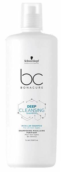Schwarzkopf BC Scalp Therapy Шампунь для глубокого очищения волос Deep Cleansing