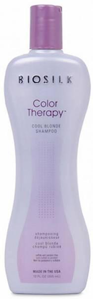 Biosilk Color Therapy Шампунь защита цвета для блондинок