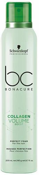 Schwarzkopf BC Collagen Volume Boost Кондиционирующий мусс для объёма волос