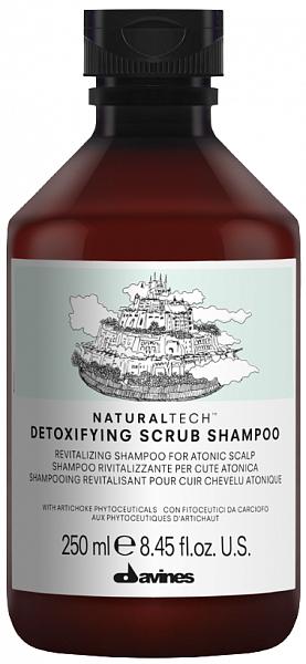 Davines Natural Tech Detoxifying Детоксирующий шампунь-скраб
