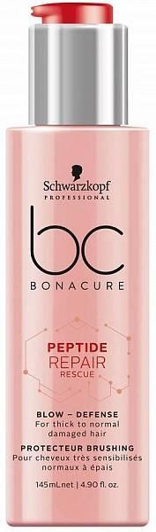 Schwarzkopf BC Peptide Repair Rescue Защитный крем для волос Blow-Defence