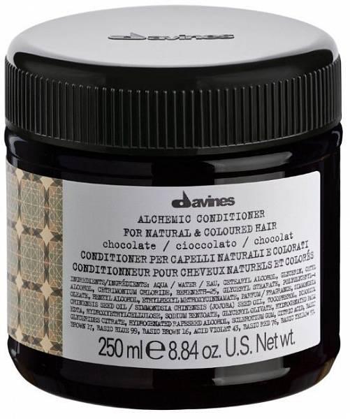 Davines Alchemic Кондиционер для натуральных и окрашенных волос (шоколад)