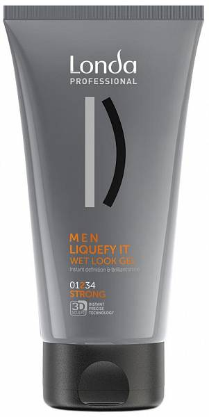 Londa Styling Гель-блеск с эффектом мокрых волос сильной фиксации LIQUEFY IT