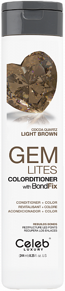 Celeb Gem Lites Кондиционер тонирующий цвет Шоколадный Кварц