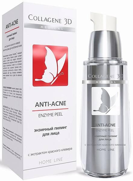 Medical Collagen 3D Гель-пилинг для лица энзимный Anti acne