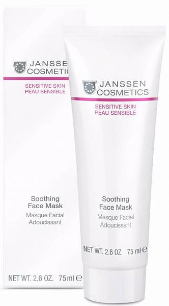 Janssen Sensitive Skin Успокаивающая смягчающая маска Soothing Face Mask