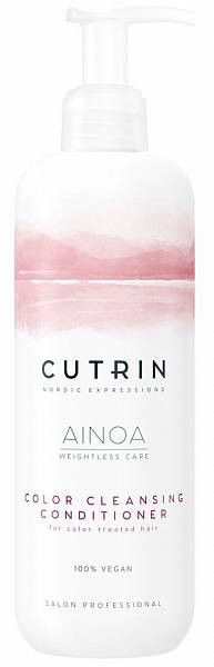 Cutrin AINOA Очищающий кондиционер для сохранения цвета Color