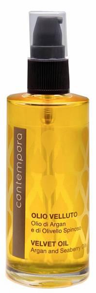 Barex Contempora Разглаживающее масло «Сияющий бархат» Масло Арганы и Облепихи