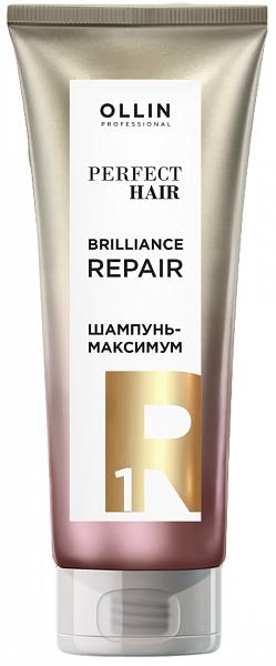 Ollin Perfect Hair Шампунь-максимум Подготовительный этап Brilliance Repair