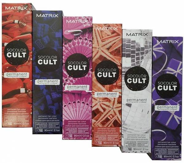 Matrix Стойкая крем краска для волос SoColor Cult