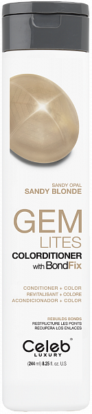 Celeb Gem Lites Кондиционер тонирующий цвет Песочный Опал