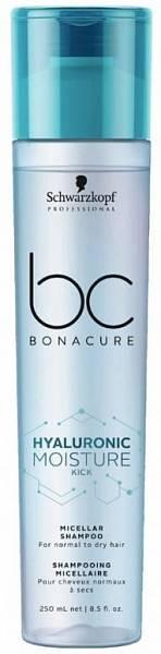 Schwarzkopf BC Hyaluronic Moisture Kick Мицеллярный увлажняющий шампунь для волос