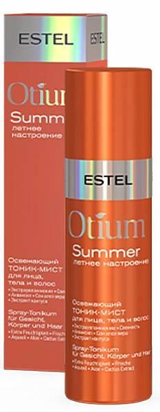 Освежающий тоник-мист для лица тела и волос Otium Summer