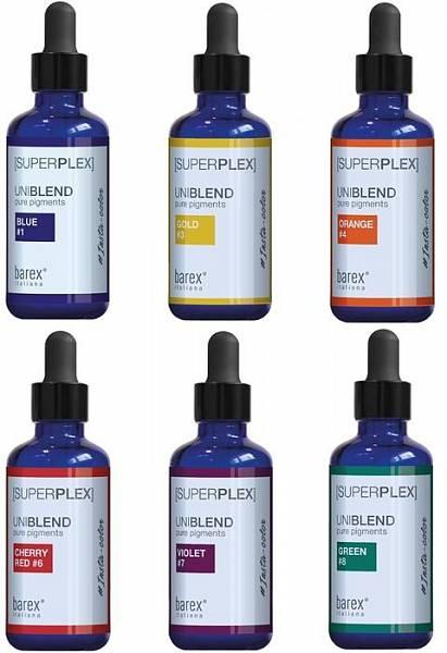 Barex SuperPlex Пигменты для прямого окрашивания Uniblend Pure Pigments