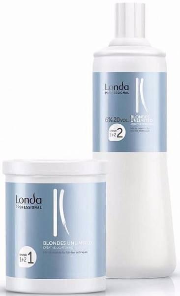 Londa Креативная система для осветления волос без фольги Blondes Unlimited