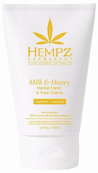 Hempz Крем для рук и ног Молоко и Мёд Herbal Hand Foot Creme