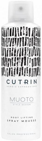 Cutrin MUOTO Спрей-мусс для прикорневого объёма Root Lifting